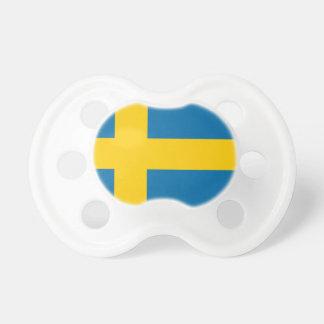 Flag of Sweden - Sveriges flagga - Swedish Flag Pacifier