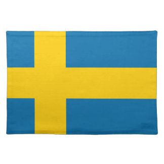 Flag of Sweden - Sveriges flagga - Swedish Flag Placemat