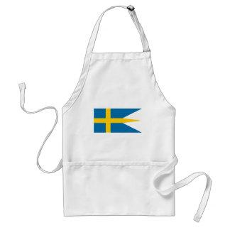 Flag of Sweden - Sveriges flagga - Swedish Flag Standard Apron