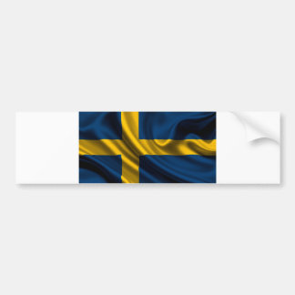 Flag of Sweden, Swedish Flag Bumper Sticker