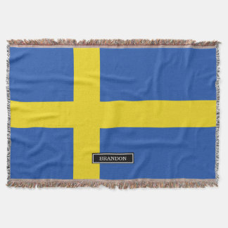 Flag of Sweden Throw