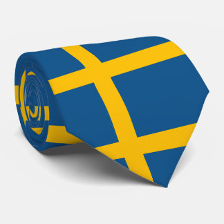 Flag of Sweden Tie
