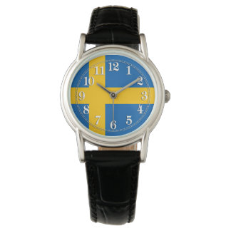 Flag of Sweden Wrist Watch