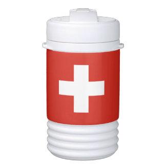 Flag of Switzerland Cooler