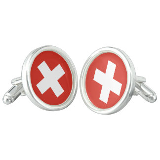 Flag of Switzerland Cufflinks