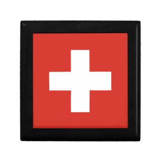 Flag of Switzerland - Die Nationalflagge der Schwe Gift Box