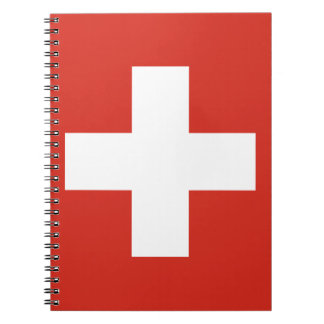 Flag of Switzerland - Die Nationalflagge der Schwe Notebooks