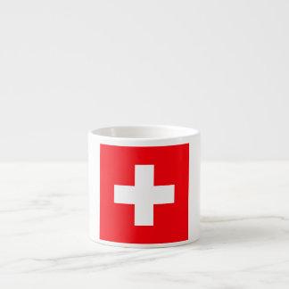 Flag of Switzerland Espresso Cup