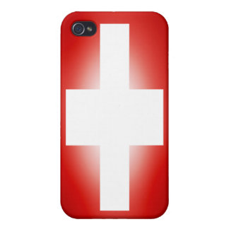 Flag of Switzerland Iphone 4 Case
