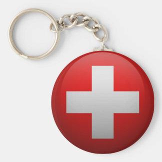 Flag of Switzerland Keychain