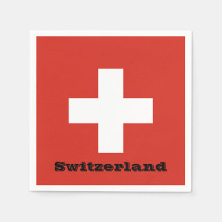 Flag of Switzerland Napkin