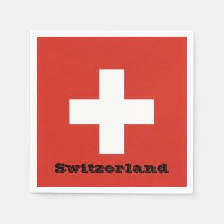 Flag of Switzerland Paper Napkins