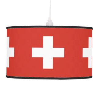 Flag of Switzerland Pendant Lamp