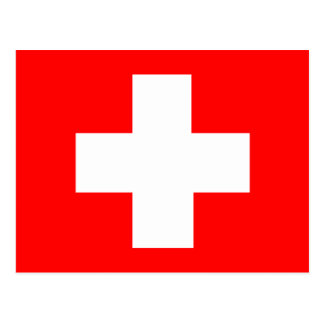 Flag of Switzerland Post Cards