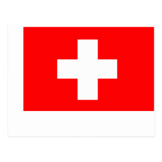 Flag of Switzerland Post Cards