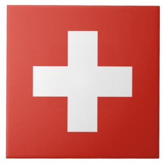 Flag of Switzerland Tile