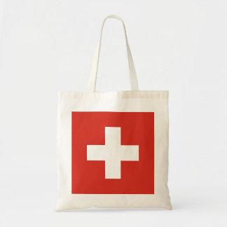 Flag of Switzerland Tote Bag