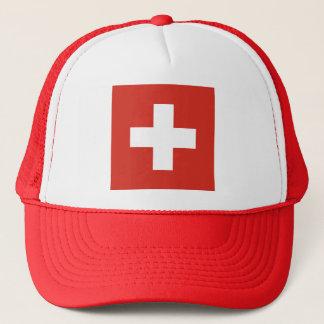 Flag of Switzerland Trucker Hat
