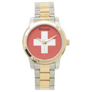 Flag of Switzerland Watch