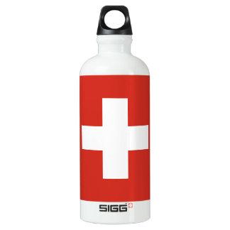 Flag of Switzerland Water Bottle