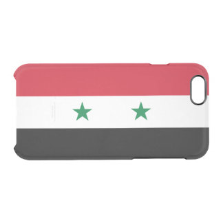 Flag of Syria Clear iPhone Case