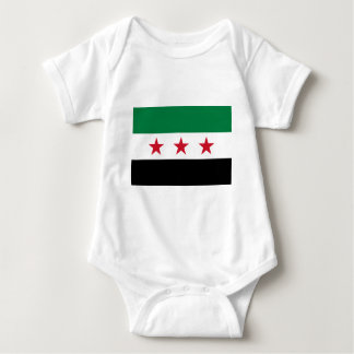 Flag of Syria - Syrian Independence flag Baby Bodysuit