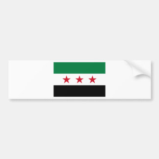 Flag of Syria - Syrian Independence flag Bumper Sticker