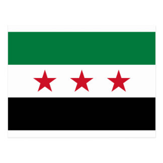 Flag of Syria - Syrian Independence flag Postcard