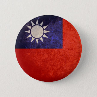 Flag of Taiwan 2 Inch Round Button