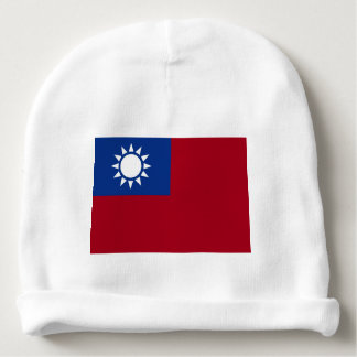Flag of Taiwan Republic of China Baby Beanie