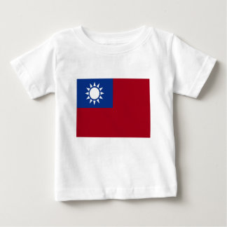 Flag of Taiwan Republic of China Baby T-Shirt