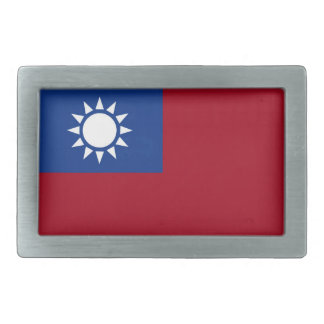 Flag of Taiwan Republic of China Belt Buckles