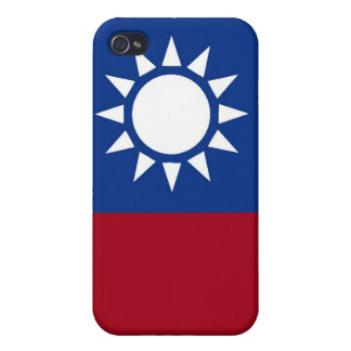 Flag of Taiwan Republic of China Case For The iPhone 4