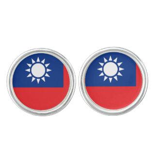 Flag of Taiwan Republic of China Cufflinks