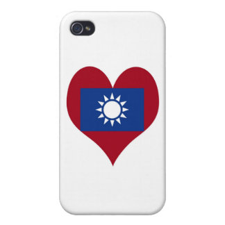 Flag of Taiwan Republic of China iPhone 4/4S Case