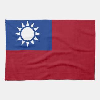 Flag of Taiwan Republic of China Kitchen Towel
