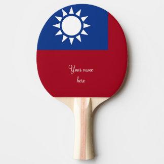 Flag of Taiwan Republic of China Ping Pong Paddle