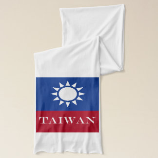 Flag of Taiwan Republic of China Scarf