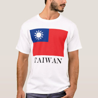 Flag of Taiwan Republic of China T-Shirt