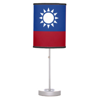 Flag of Taiwan Republic of China Table Lamp