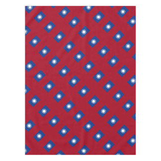 Flag of Taiwan Republic of China Tablecloth