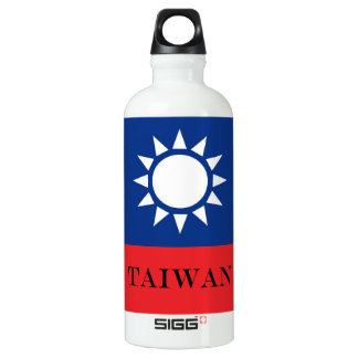 Flag of Taiwan Republic of China Water Bottle