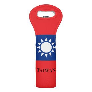Flag of Taiwan Republic of China Wine Bag