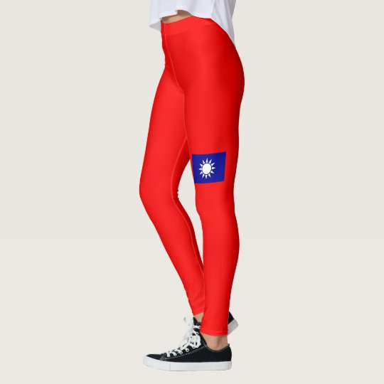 Flag of Taiwan (ROC) Leggings