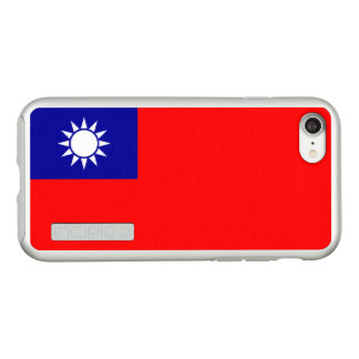 Flag of Taiwan (ROC) Silver iPhone Case