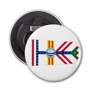 Flag of Tampa, Florida Bottle Opener