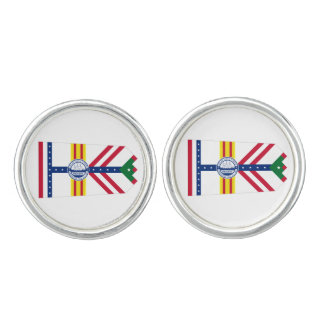 Flag of Tampa, Florida Cuff Links