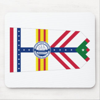 Flag of Tampa, Florida Mouse Pad
