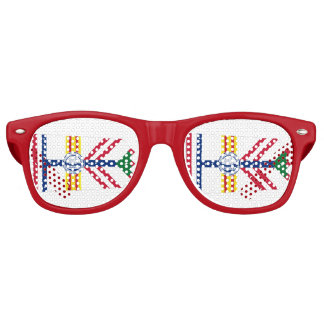 Flag of Tampa, Florida Retro Sunglasses