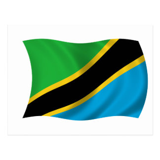 Flag of Tanzania Postcard